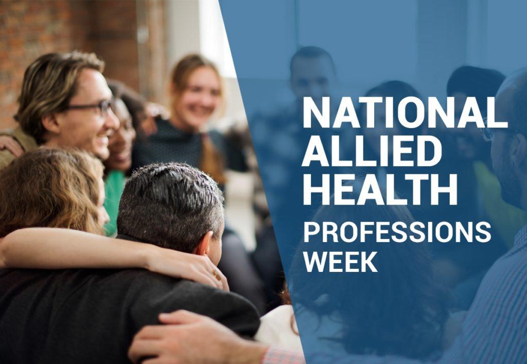 Allied health professionals week