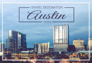 Healthcare travel destination Austin, TX